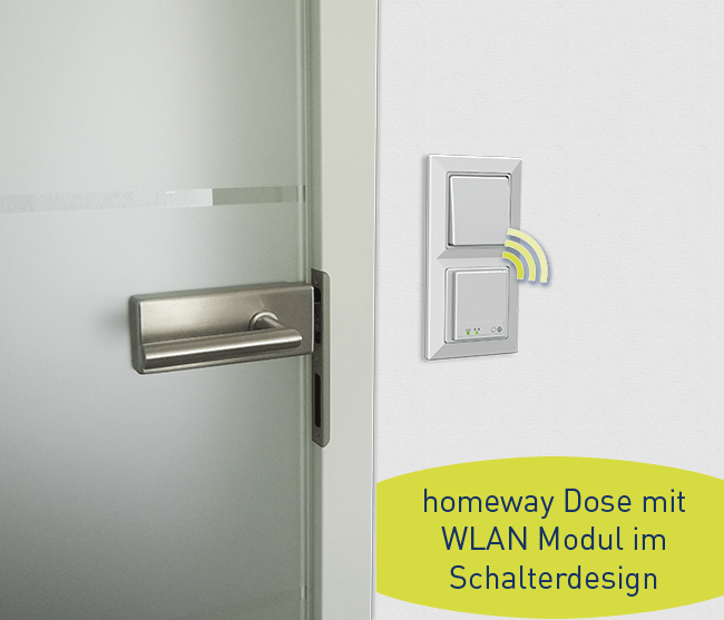 homeway WLAN Access Points im Schalterdesign