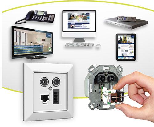 Anwendungen Multimediadose homeway