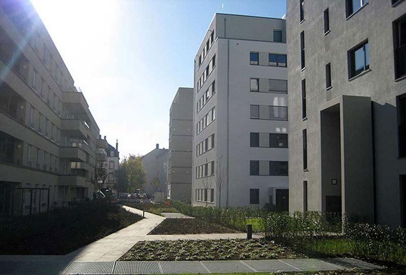 Stadtvillen der GWH am Europagarten