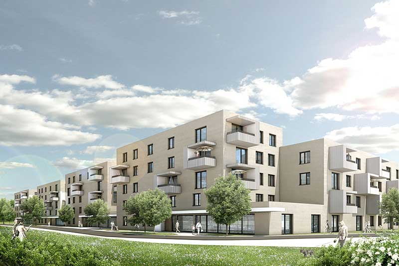 Gemeinnützige Wohnungsbaugesellschaft Ingolstadt GmbH Preisserstraße