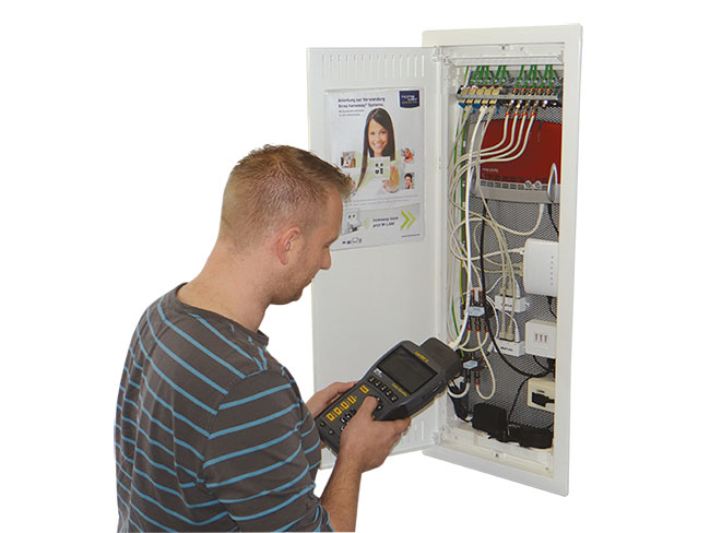 Andreas Hammer installiert das homeway System
