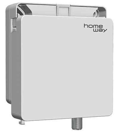 fiberway Glasfaser OAP von homeway Snap-On-System