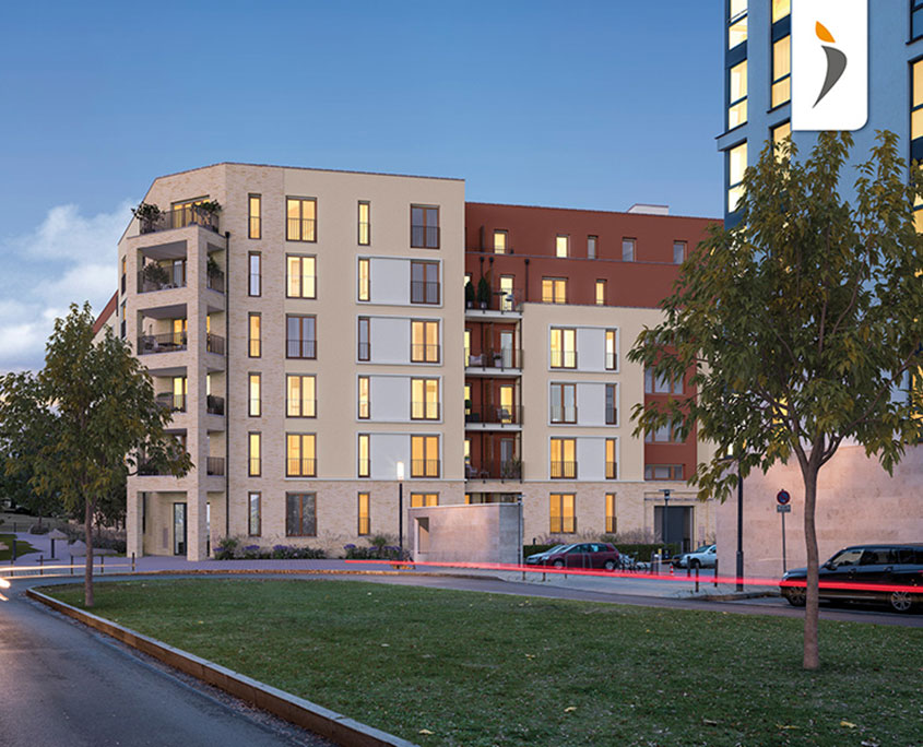 Projekt immobilien the link frankfurt am main homeway for Wohnung mieten darmstadt
