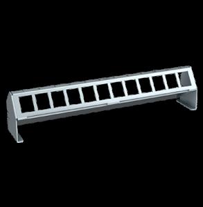 Verteilerfeldrahmen für 12 x Keystone-Modul
