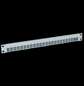 Verteilerfeldrahmen für 24 x Keystone-Modul