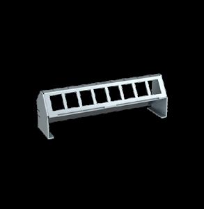 Verteilerfeldrahmen für 8 x Keystone-Modul