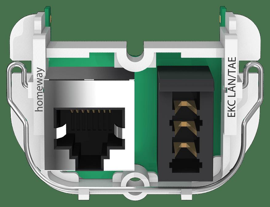 homeway classic Kommunikationsmodul EKC LAN TAE