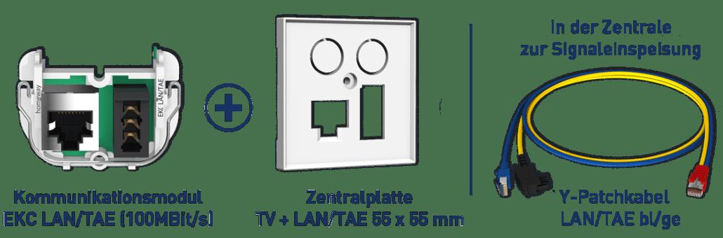 Konfiguration classic LAN/TAE