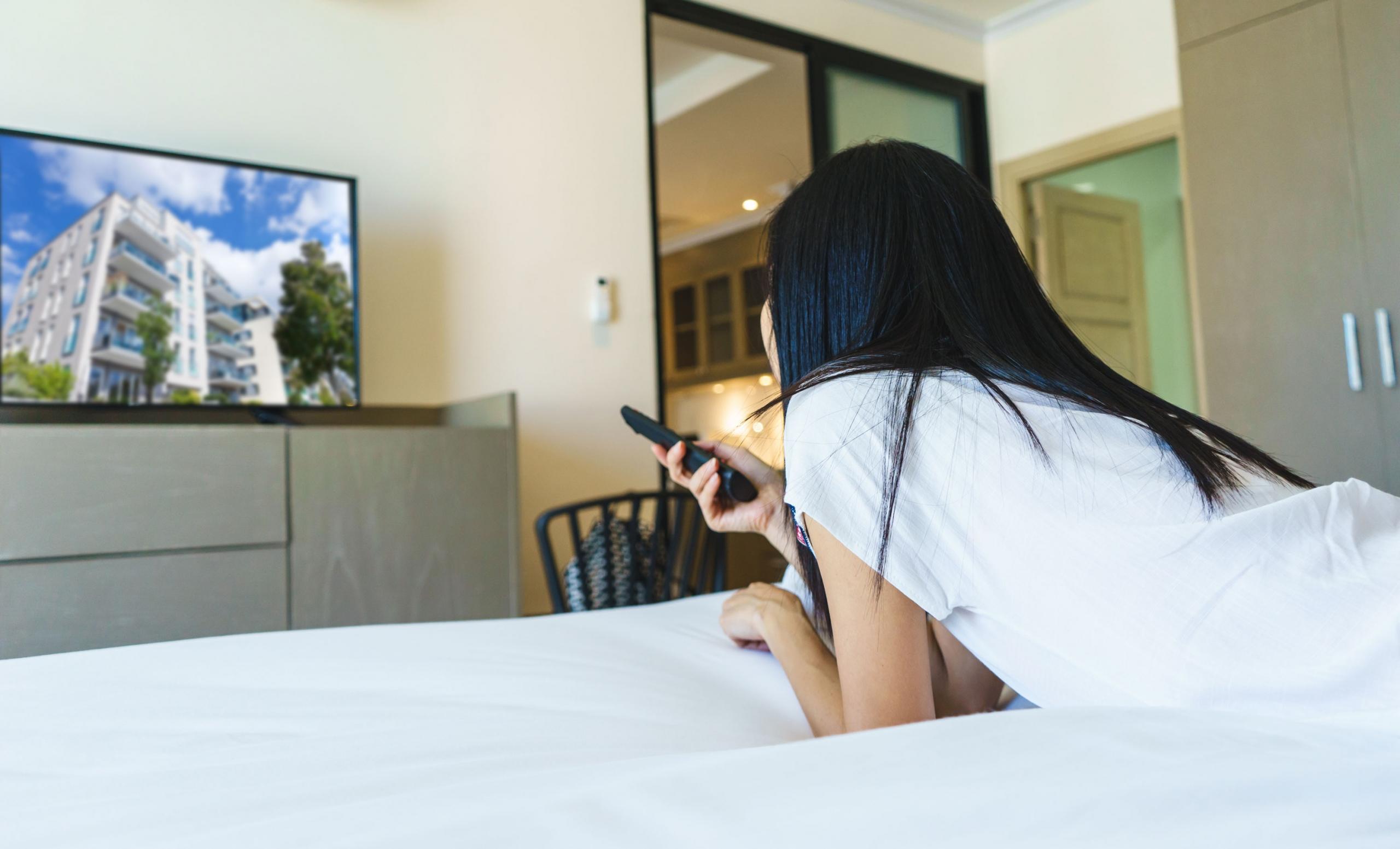 homeway Multimedia-Anwendung im Schlafzimmer