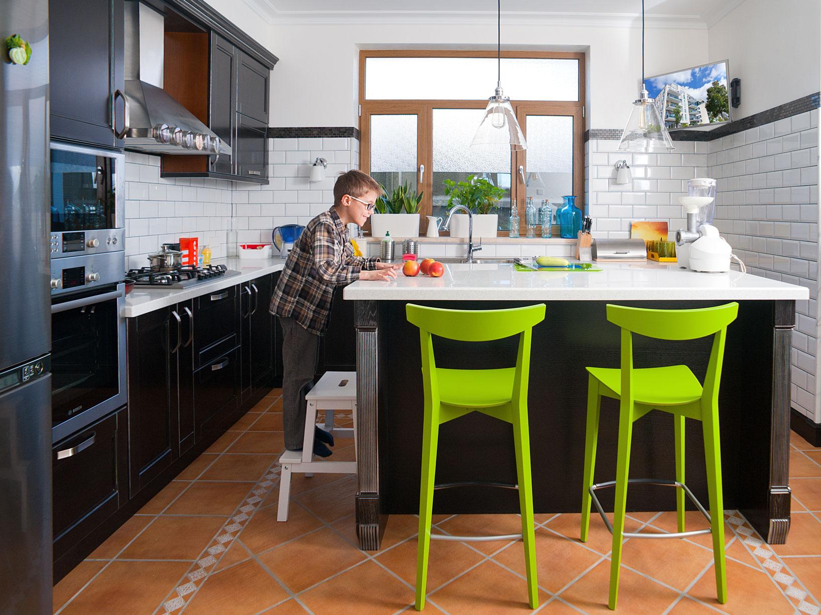 homeway Multimedia-Anwendung in der Küche