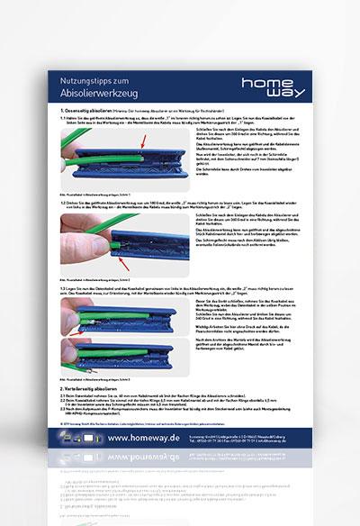 Nutzungstipps zum Abisolierwerkzeug