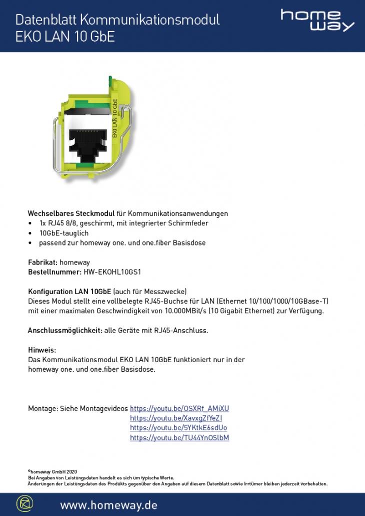 Datenblatt EKO-LAN