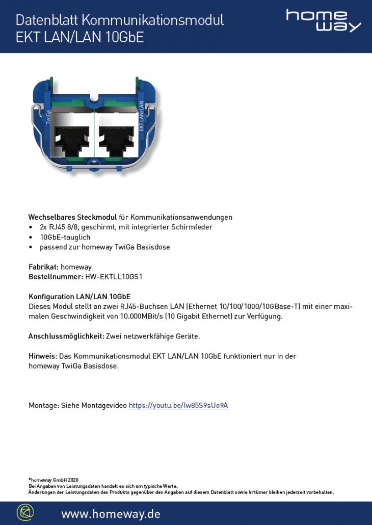 Datenblatt EKT-LAN-LAN