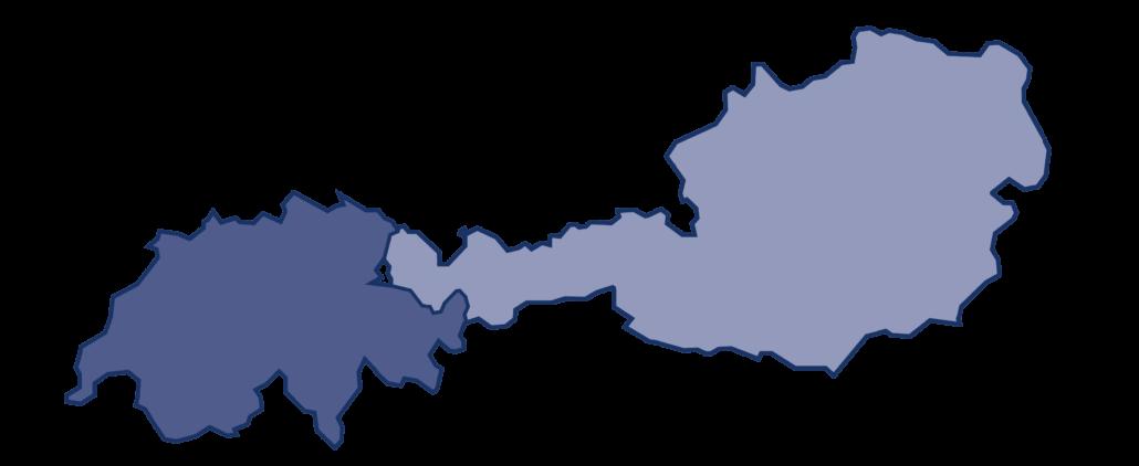 Vertriebsgebiet Österreich Schweiz