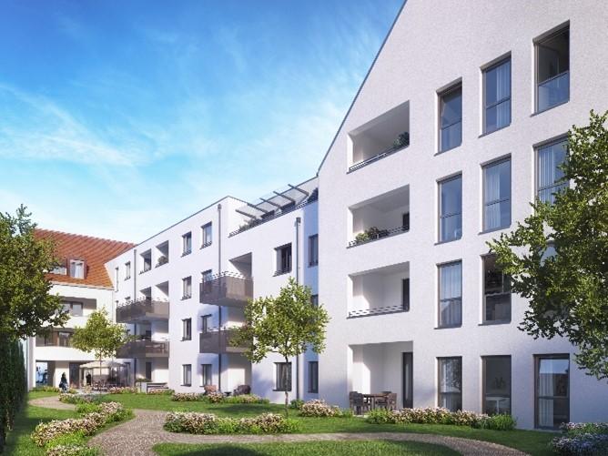 """Quartier """"Klostergärten"""" in Neumarkt"""