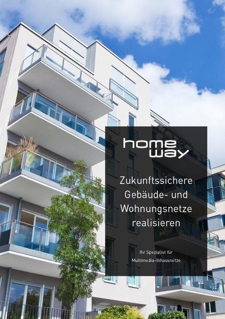 homeway Bauträgerbroschüre